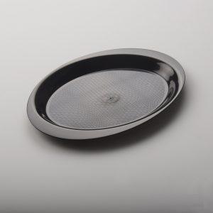 Poslužaonik PP Gold Plast d=18,5 cm crni (50 kom/pak)