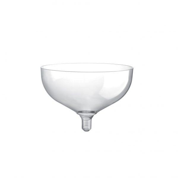 Čaša za šampanjac 180 ml Gold Plast prozirna (20 kom/pak)