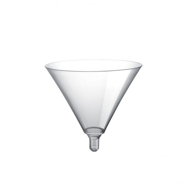 Čaša za martini Gold Plast prozirna (20 kom/pak)