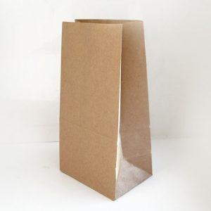 Papirnata vrećica 220х120х290 mm kraft (1000 kom/pak)