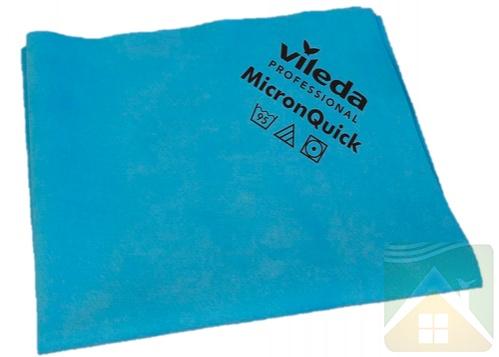 Krpa od mikrovlakana Vileda MicronQuick 38×40 cm plava 5 kom/pak (152109/152105)