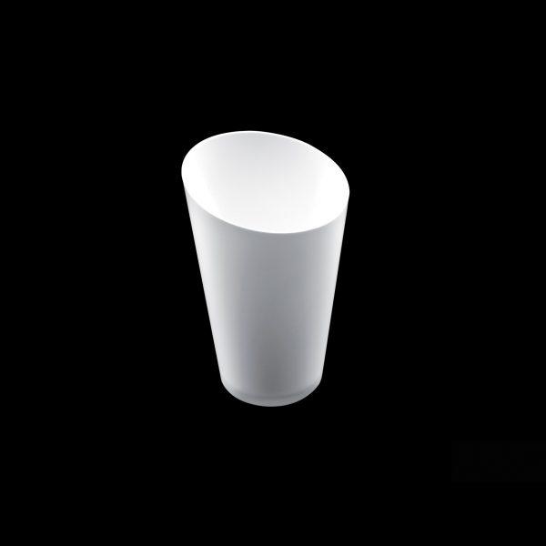 Fingerfood posudica PS Gold Plast 70 ml Konus bijela (25 kom/pak)