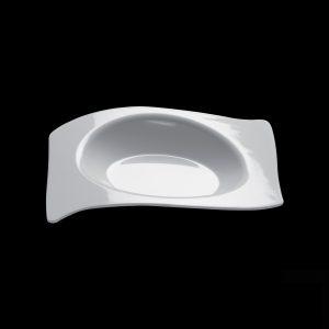 Flat-posudica za catering bijela PS Gold plast (50 kom/pak)