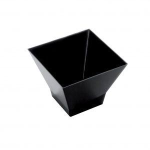 Pagoda-posudica za catering 120 ml PS crna Gold Plast (25 kom/pak)