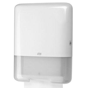 Dispenzer ubrusa ZZ i C presavijanja Tork H3 bijeli (553000)