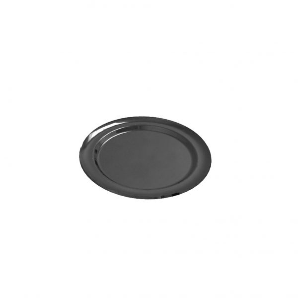 Tacna okrugla PET d=270 mm Gold Plast crna (5 kom/pak)