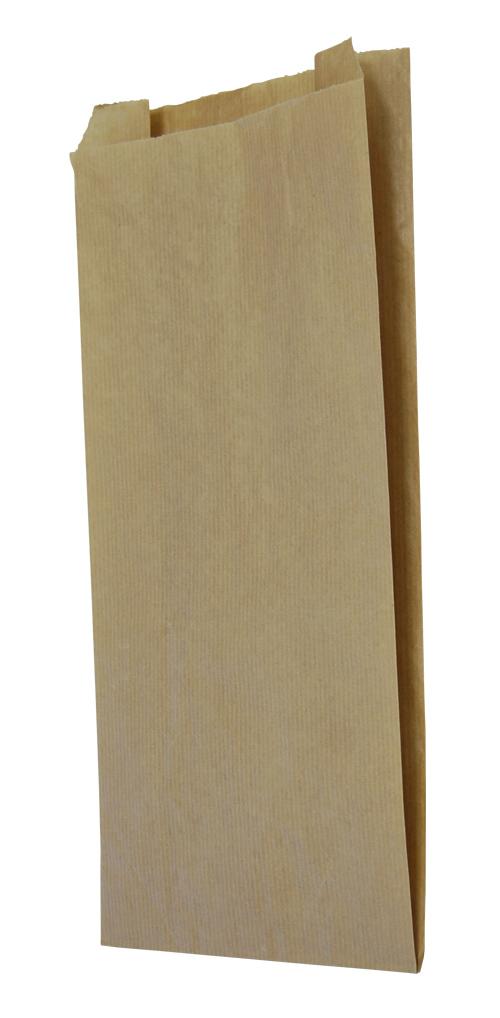 Vrećica papirnata 140x60x250 mm, kraft (1000 kom/pak)