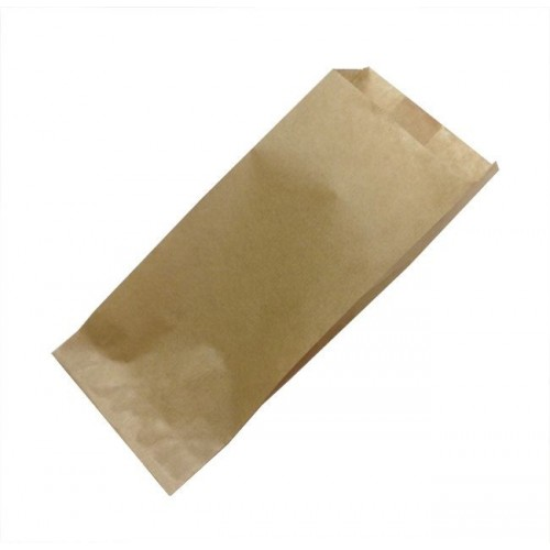 Papirnata vrećica 80x45x185 mm, kraft (500 kom/pak)
