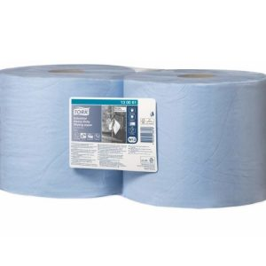 Papir za brisanje Tork W1/W2 ultra izdržljiv plavi, rola(130081)
