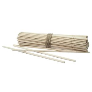 Štapići za jelo u plastičnom individualnom pakiranju, okrugli (100 kom/pak)