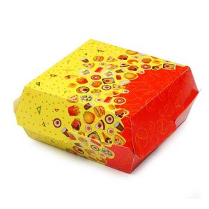 Kutija za hamburger Rog izobilja 120х120х70mm (50 kom/pak)