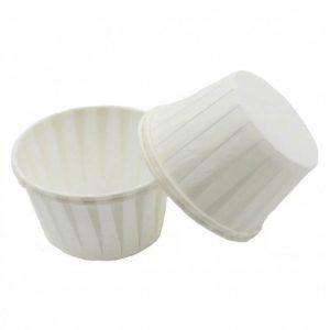 Papirni kalupi za muffine d=50 mm h=40 mm bijeli 5000 kom/pak