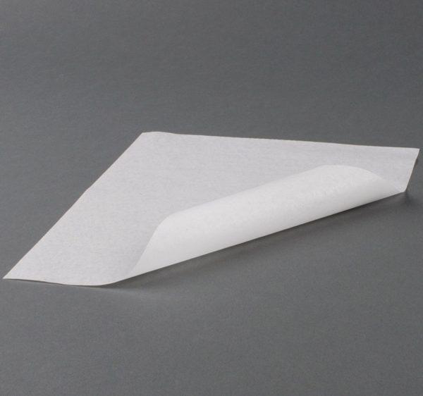 Papir za zamatanje hamburgere 305×305 mm parafin, bjeli (3000 kom/pak)