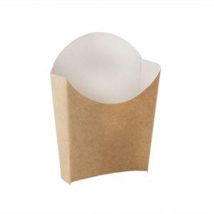 Kutija za pomfrit Ecoline (10x13x4 cm) 120 g kraft (50 kom/pak)