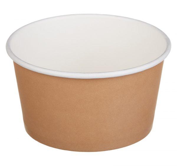 Papirnata posuda Tambien ECO 380 ml d=110 mm h=60 mm kraft (50 kom/pak)