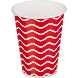 Čaša papirnata 1sloj 300 (364) ml d=90mm za hladna pića Lollipop (50 kom/pak)
