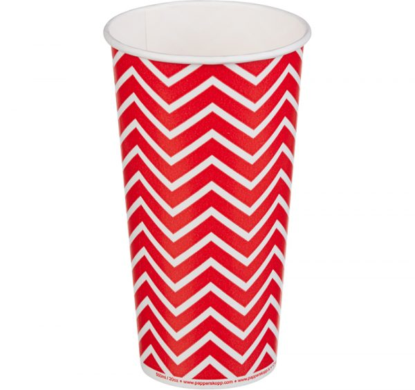 Čaša papirnata 500 ml d=90 mm 1-slojna Lollipop za hladna pića (50 kom/pak)