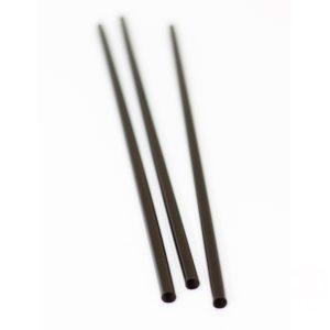 Slamke plastični l=250 mm d=8 mm crna 135 kom/pak