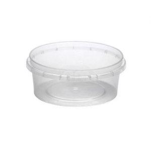 Posuda za sos PP 125 ml s poklopcem, 70 kom (komplet)