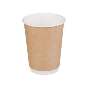 Čaša papirnata 300 ml d=90mm 2-slojni kraft (20 kom/pak)