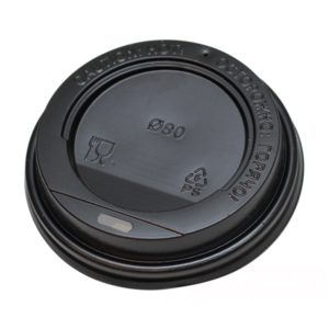 Poklopac sa otvorom PS d=80 mm crni (100 kom/pak)