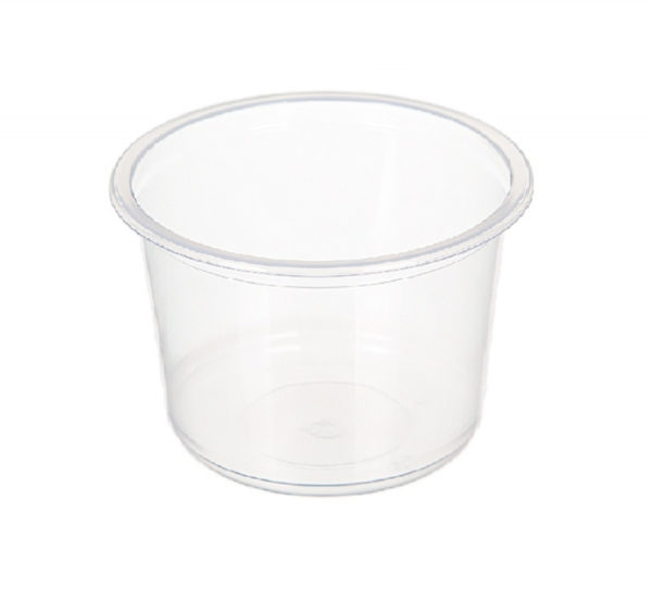 Posuda PP 500 ml d=115 mm h=82,6 mm prozirna (50 kom/pak)