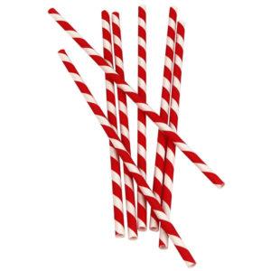 Slamke papirnate Lollipop l = 210 mm d = 6 mm (25 kom)