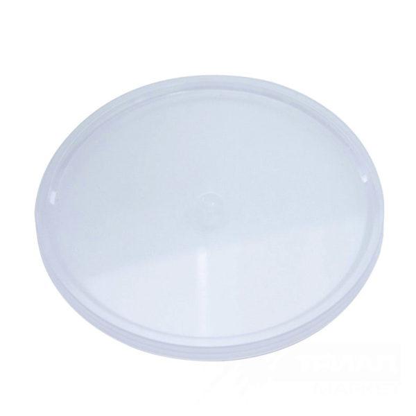 Posuda za predjelo PP 725 ml d = 170 mm h = 47 mm, prozirna s poklopcem, 2640 kom (zbirka)