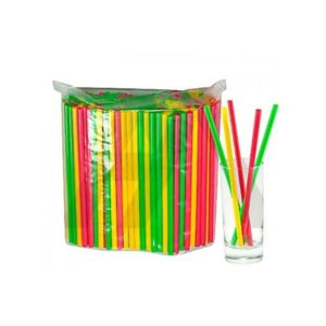 Slamke plastični l=240mm d=8 mm u boji 250kom/pak