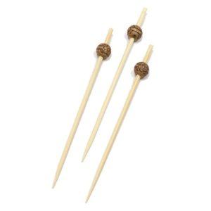 Pikalica od bambusa za kanape  9 cm  Perla ECO d-8mm 100 kom/pak