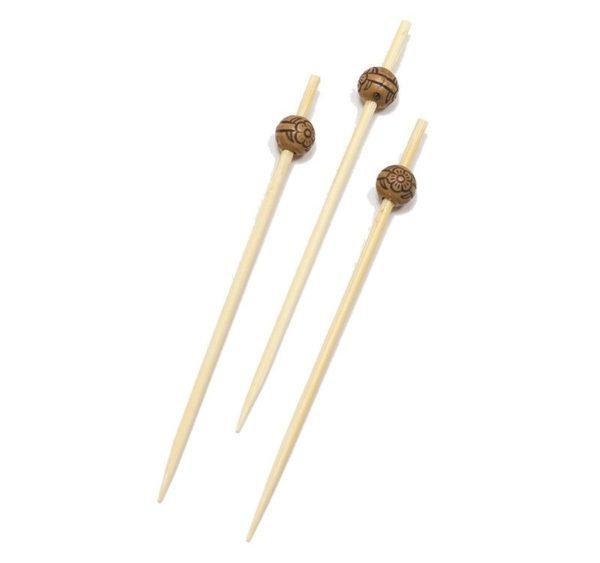 Pikalica od bambusa 9 cm  ECO Perla d=8 mm 100 kom/pak