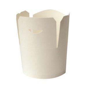Posuda papirnata 750 ml d = 92 mm, h = 100 mm bijela (50 kom/pak)