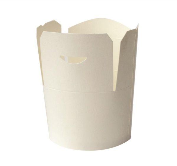 Papirnata posuda za WOK 750 ml bijela (50 kom/pak)