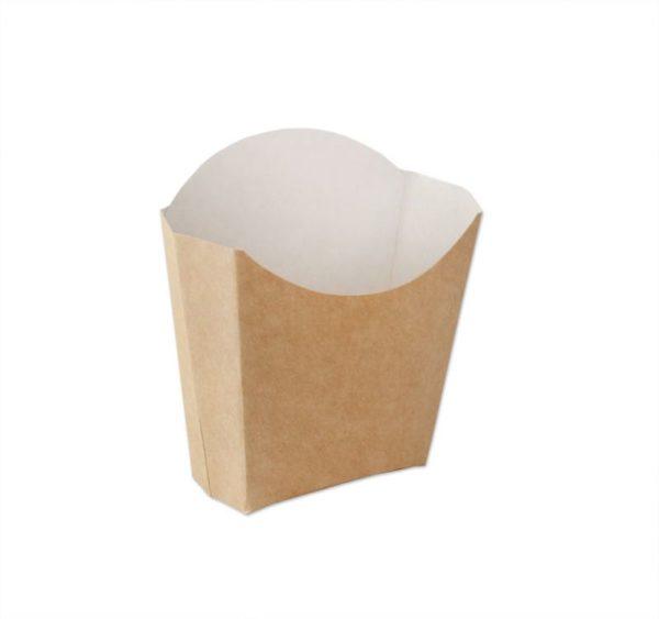 Kutija za pomfrit Ecoline kraft 100g (500 kom/pak)