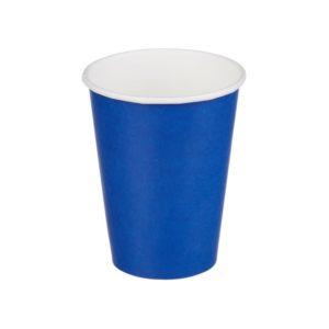 Čaša papirnata jednoslojna 300 (364) ml d=90mm za topla pića plava (50 kom/pak)