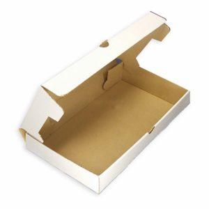 Papirnata kutija 330×230 mm bijeli mikro valoviti karton (50 kom/pak)