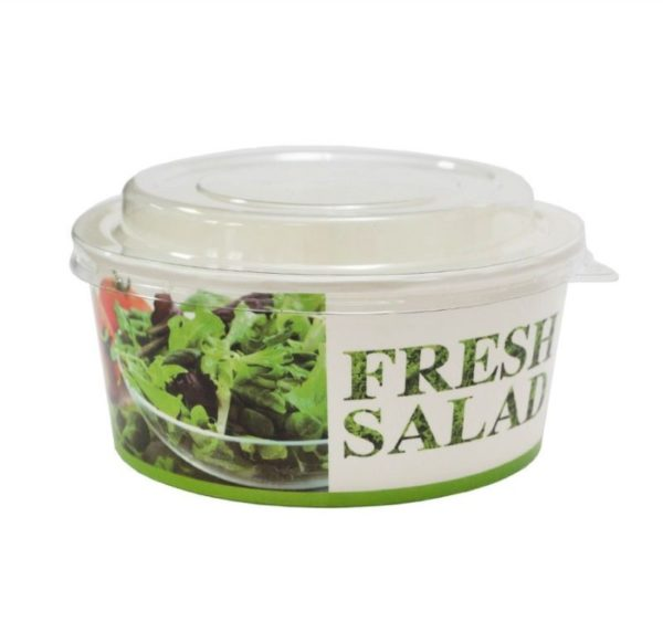 Paprinata posuda za salatu 750 ml d=146 mm h=65 mm Fresh salad (50 kom/pak)