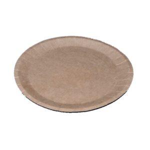 Papirnati tanjir d=180 mm, dvostrani kraft (900 kom/pak)
