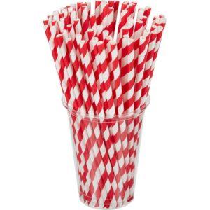 Slamke papirnate Tambien ECO Lollipop d=210 mm d=6 mm 100 kom/pak