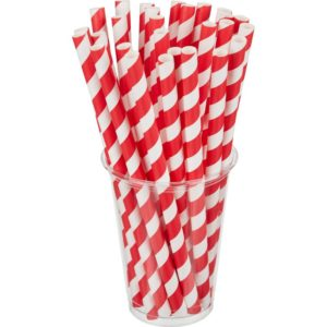 Slamke papirnate Tambien ECO Lollipop l=210 mm d=10 mm 100 kom/pak