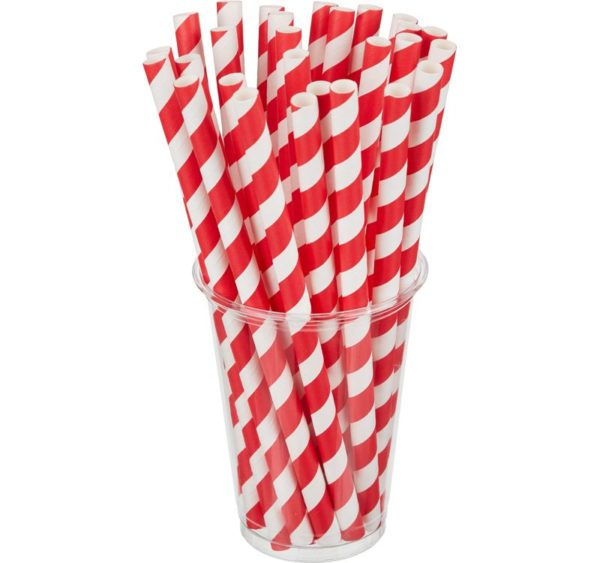 Slamke Tambien ECO papirnate za jednokratnu upotrebu 210×10 Lollipop 100kom/pak