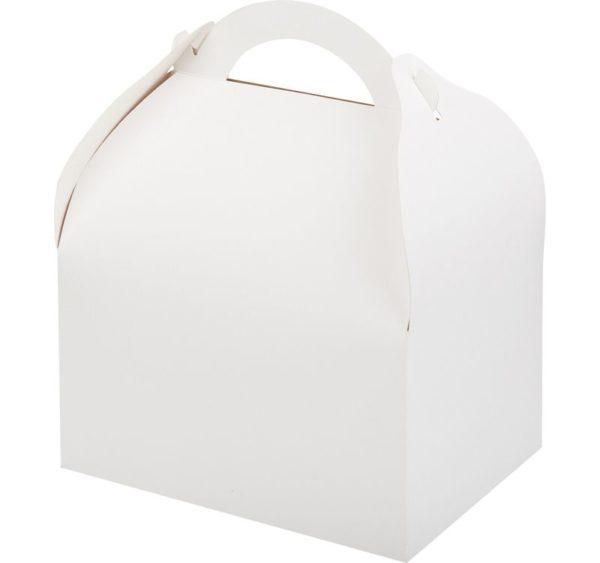 Posuda za tortu, desert 170x130x100 mm bijela (90 kom/pak)