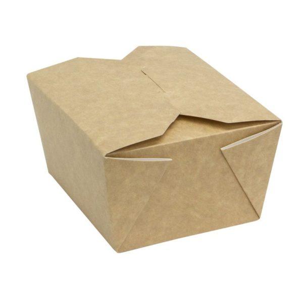 Papirnata posuda Fold Box 950 ml 170x135x50 mm kraft (400 kom/pak)