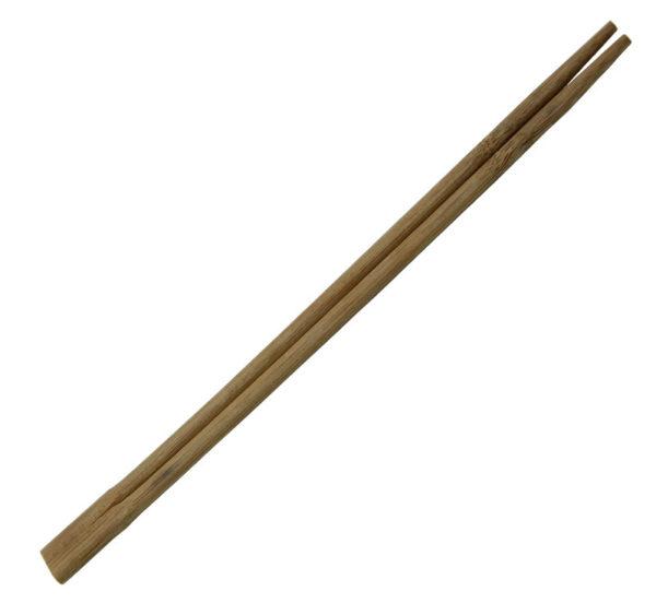 Štapići za jelo, smeđa, pojedinačno zamotani (100 kom/pak)