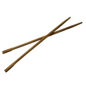 Štapići za jelo oštri smeđa, pojedinačno zamotani (100 kom/pak)