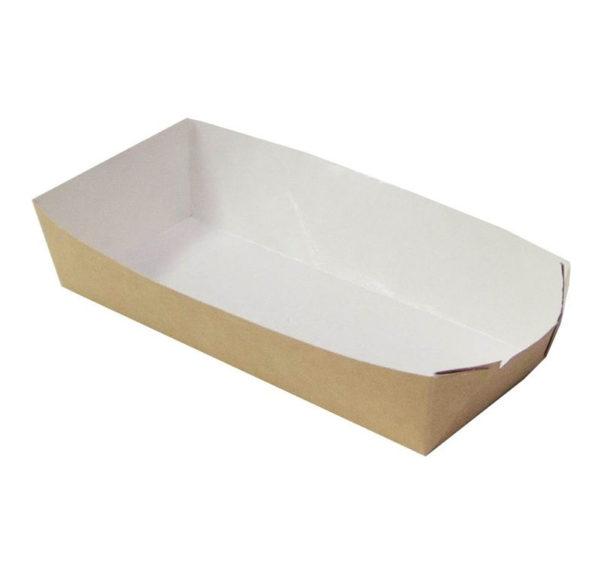 Čamac papirnati za hot dog ECO HD 165x70x40 mm, Kraft