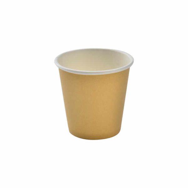 Čaša papirnata 85 ml d=62 mm 1-slojna kraft (45 kom/pak)