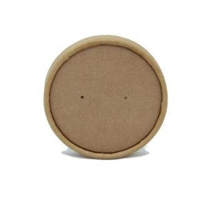 Poklopac papirnati Tambien ECO d=90 mm kraft (25 kom/pak)
