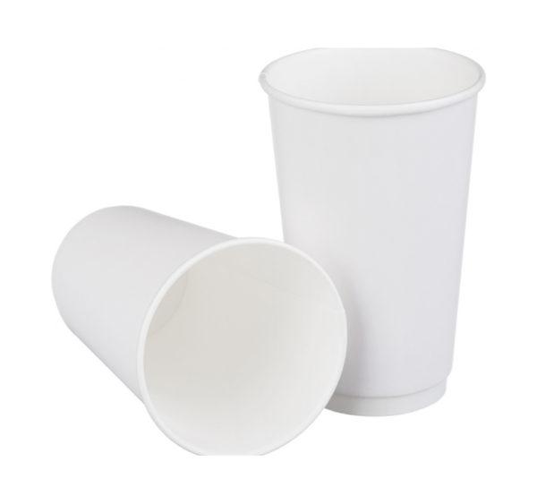 Сaša 400 (518) ml papirnata d=90 mm dvoslojna bijela (18 kom/pak)