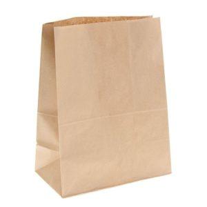 Papirnata vrećica 120х80х245 mm kraft (500 kom/pak)